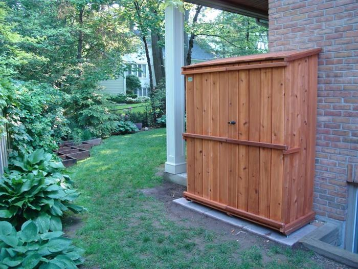 Custom Storage Cedar Sheds