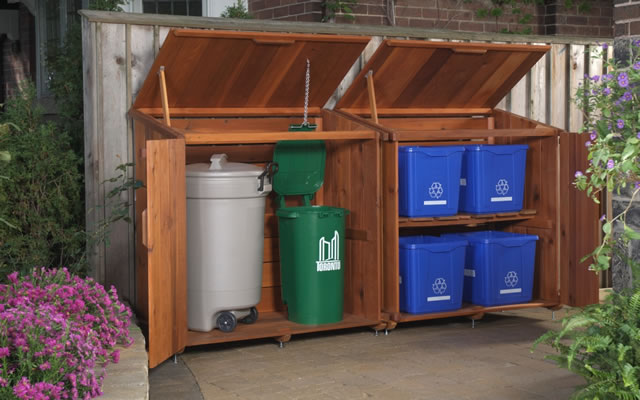 Bin Solutions - garbage, recycle & organic or green bins